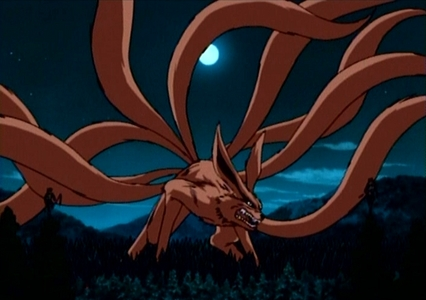 how many people in naruto has nine tails