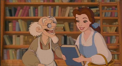 How many times did Belle read this book?