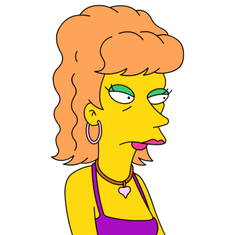 What's the name of Homer's seconde wife of Las Vegas?