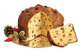 What is the name of the cake traditionally eaten in Italy at Christmas?