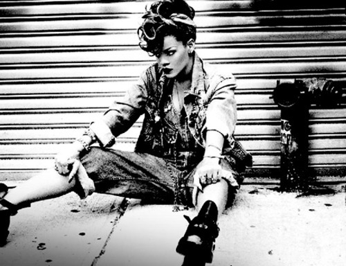 "Which sentence was always repeated in the album ""Talk That Talk""?"