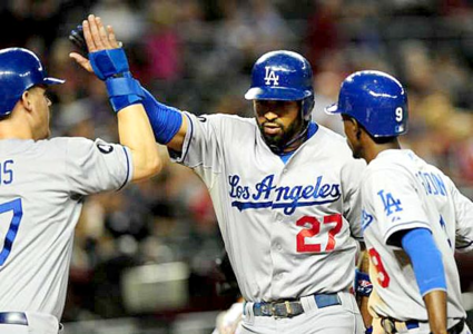 How many RBIs did Matt Kemp have during the 2011 season?