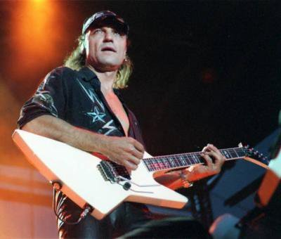 What band is this guitarist from ?