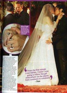 When Pete married Ashlee?