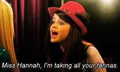 Heres a screensnap who did Selena play on Hannah Montana?