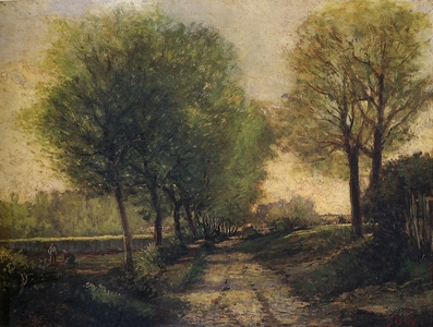 This painting is painted by one of the most famous Impressionists. Who is he?
