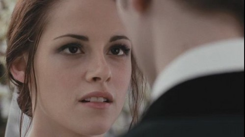 "What is the name of the character Kristen played on ""The Twilight Saga: Breaking Dawn- Part 1""?"