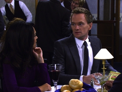 Why couldn't Barney tell Nora that he cheated on her with Robin on the boat?