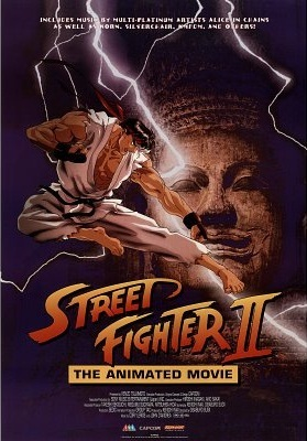 Which company dubbed Street Fighter II: The Animated Movie?