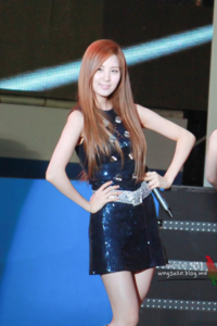 She is rank ___ in Mnet Super 100 Slim Body TV Show.