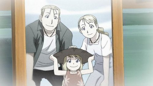 What Were The Names Of Winry's Parents?