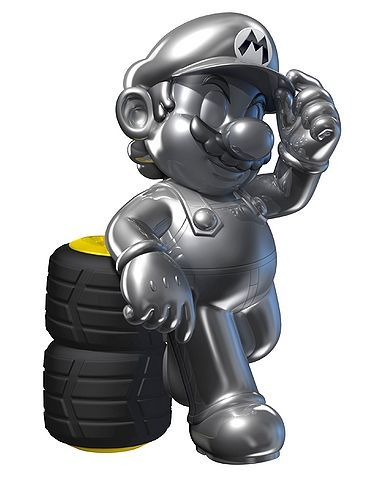 How Do You Unlock Metal Mario For Mario Kart 7?