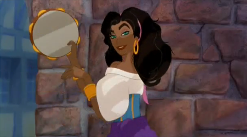 Who is the voice Esmeralda in The Hunch Back of NotreDame?