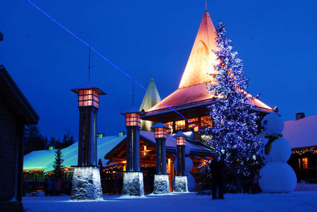 what country is in Santa Claus Village ?