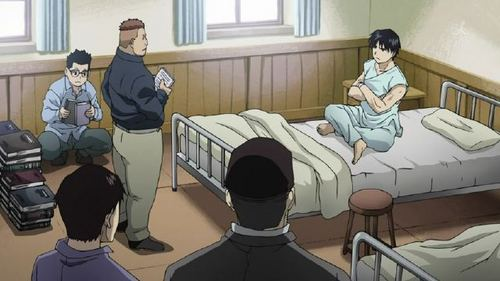 Who Shares A Hospital Room With Roy?