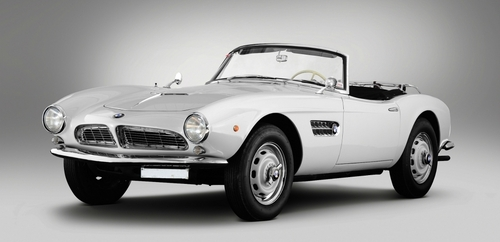 What taon is this BMW 507?