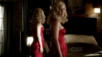 Rebekah is talking with