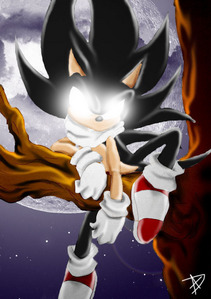 How does Sonic become Dark Sonic?