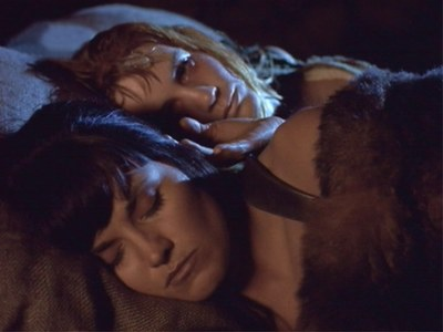 "Xena: ""Even in death, Gabrielle, I will never leave you"" The classic quote is from the episode:"