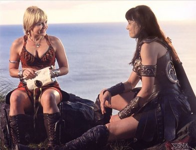 Xena gives Gabrielle a Sappho poem for her birthday in the episode:
