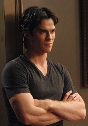 """Books: """"Caroline, the fun's over. I mean it. Let's go"""". Damon said this because he wanted save to"""