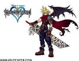 What is Cloud's objective in Kingdom Hearts I?