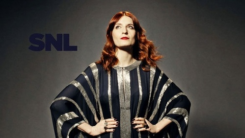 Who made a parody of Florence + the Machine on SNL?