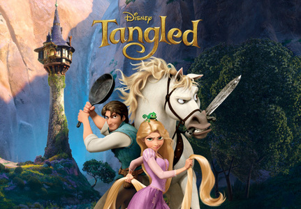 How many songs that were sung that are in the movie Tangled?