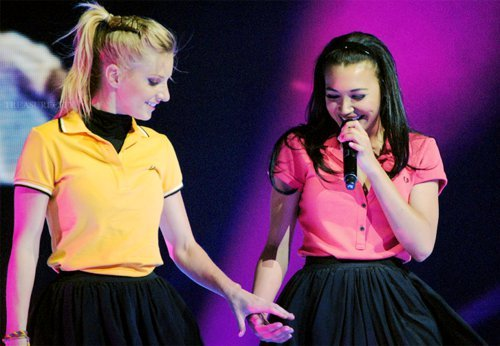 Heather Morris is Naya's