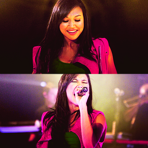 Which song did she sing for Glee Auditions?