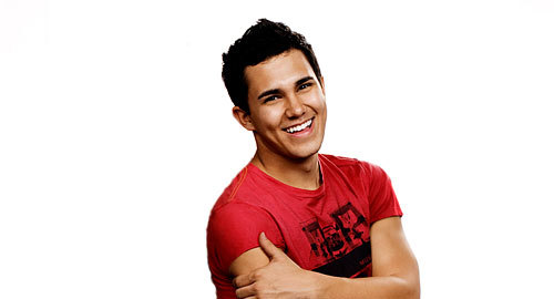 Who is Carlos Pena jr celebrity crush?