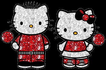 who is beside hello kitty?