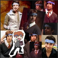 What is the real reason Joey Richter was wearing the blue headband in AVPM?