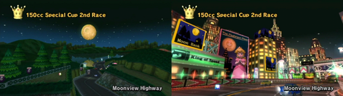 Who Owns Moonview Highway In Mario Kart Wii?