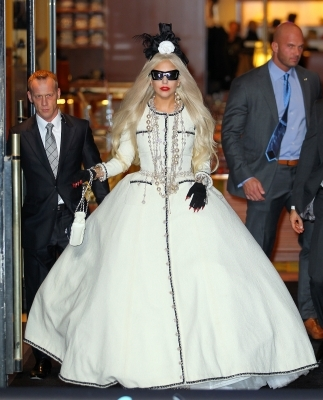 This dress was designed exclusively for Gaga by...
