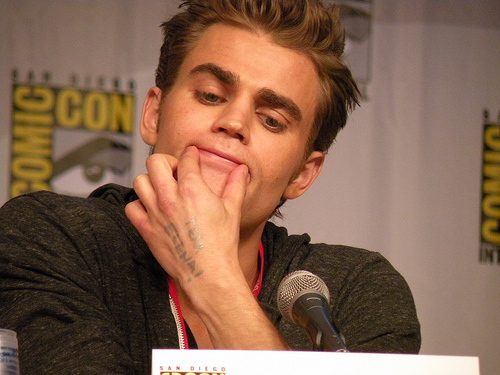 Paul wesley 発言しました that he is