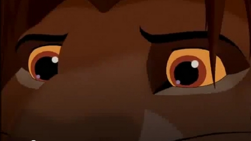 What is Simba's last word in the 2nd movie?