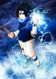 What elements does Sasuke use?