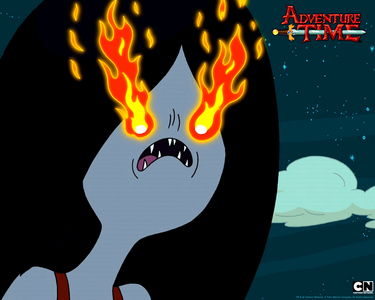 Which Character does Marceline dislikes in adventure time?
