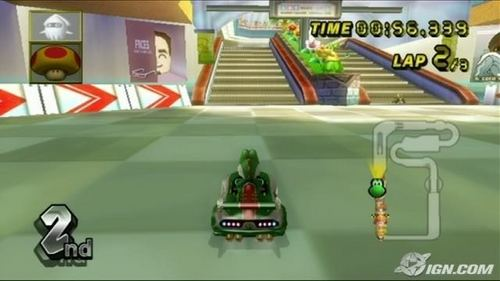"""The track, """"Coconut Mall"""" first appeared in what game?"""