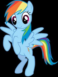 In wat episode Rainbow Dash apire like this?
