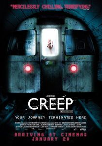 In the movie Creep what was the Underground station originally used to shoot this movie?.