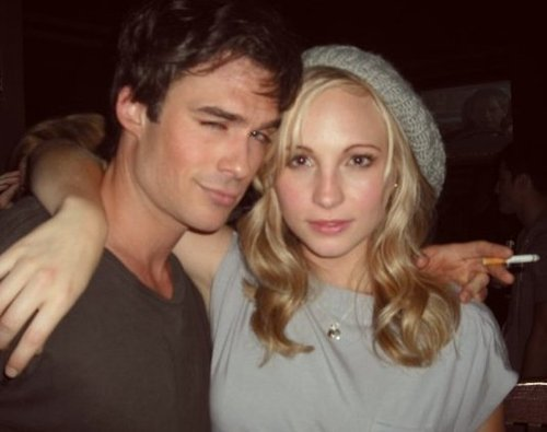 Candice Accola with...?