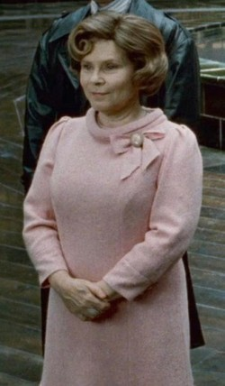 What was final fate of Delores Umbridge?