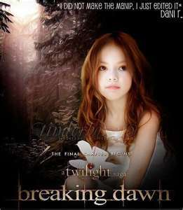 who will be playing as renessmee carlie cullen in breaking dawn part 2?