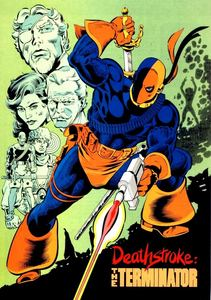 What was Deathstroke's first born son's name?