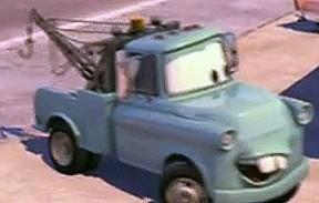 What Was Mater's Original Color When He Was Younger?
