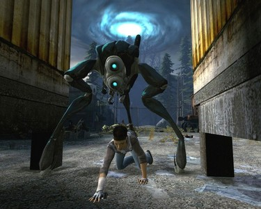 What type of alien from Half-life 1 is the HUNTER from Half-lfe 2 Ep2?