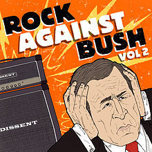"Which Green hari Song that Included in ""Rock against Bush"" compilation?"