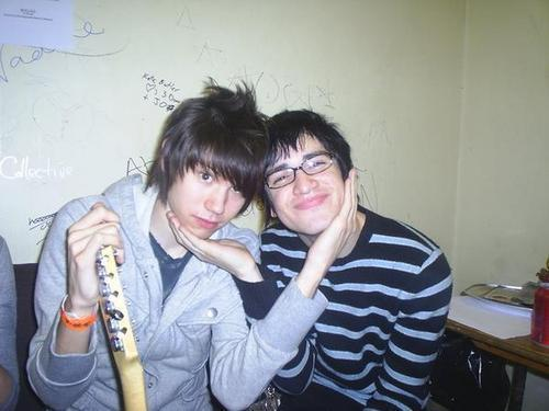 Who was the girl, with Brendon and Ryan were both dating?